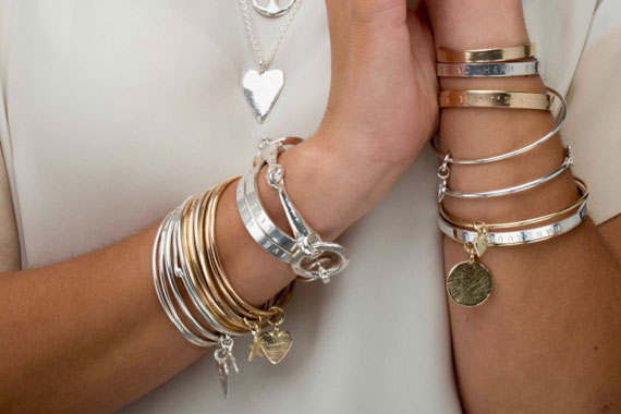 How To Stack Silver Bracelets