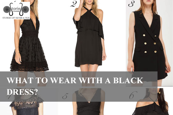 What To Wear With A Black Dress