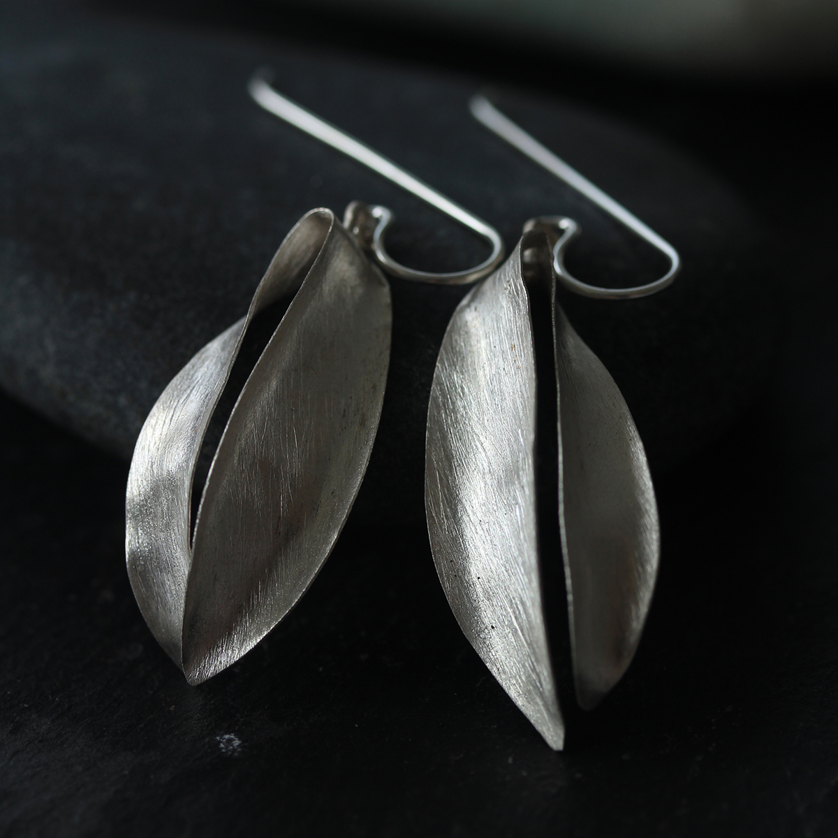 Champak flower handmade silver earrings (E0190) | Stories ...